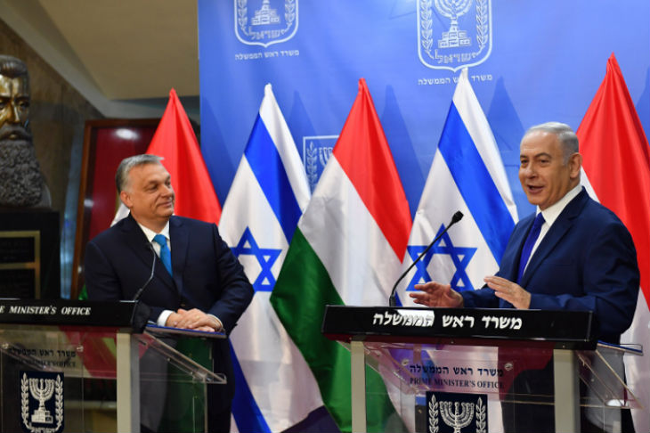 En visite en Israël, le Premier ministre hongrois défend la «tolérance zéro» contre l'antisémitisme (Vidéo)