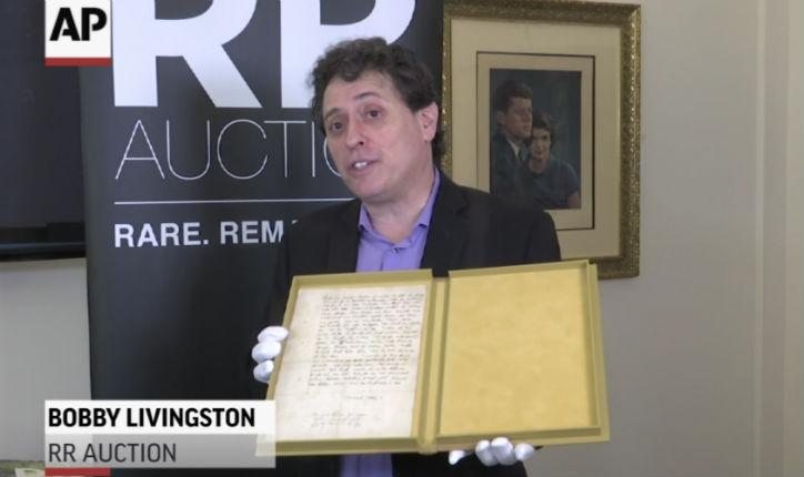 Une lettre de Martin Luther datant de 1543 qualifiant les Juifs de «démons incarnés» aux enchères aux États-Unis (Vidéo)