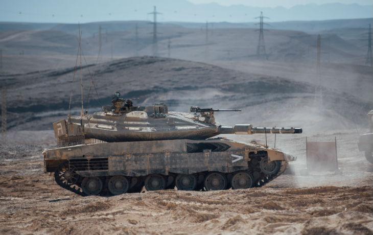 Israël: l'armée présente la nouvelle génération de chars Merkava 4 Barak (Vidéo)