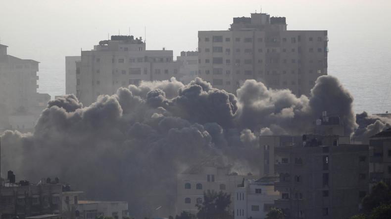 Gaza : frappes israéliennes sur des cibles du Hamas, les plus importantes depuis 2014