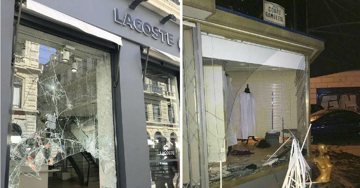 Lyon: pillages lors de la finale de la Coupe « Ils ont transformé cette ville en zone de guerre. Les passants étaient ahuris et apeurés »