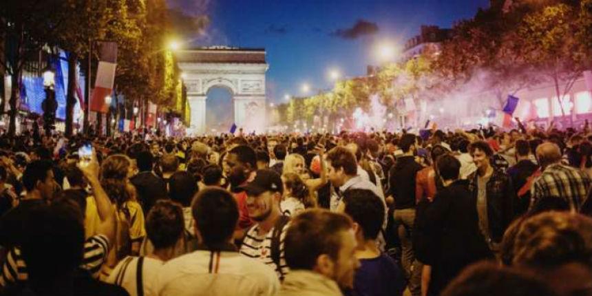 Victoire de l'Équipe de France : incidents dans toute la France, affrontements, policiers caillassés…