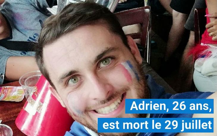 Grenoble : Marche blanche en hommage à Adrien, sauvagement tué par les frères El Habib (Vidéo)