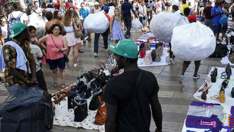 Barcelone : un touriste américain sauvagement roué de coups par des africains alors qu'il tentait de protéger une femme victime de harcèlement (Vidéos)