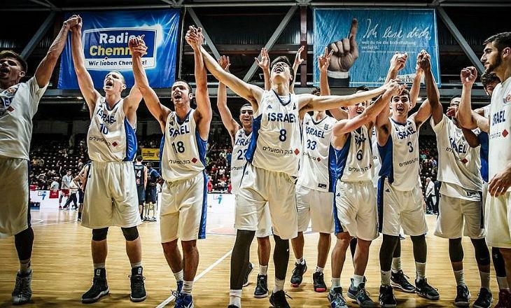 Israël champion d'Europe de Basketball U20 (Vidéo)