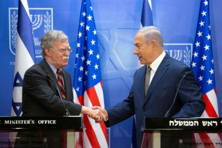 Le conseiller à la sécurité nationale américain, John Bolton «L'alliance entre les Etats-Unis et Israël contre l'Iran est une priorité»