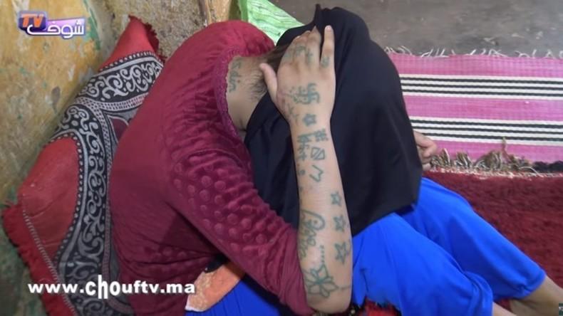 Violée, torturée, séquestrée, tatouée de swastika par dix hommes au Marco, le calvaire de Khadija 17 ans (Vidéo)