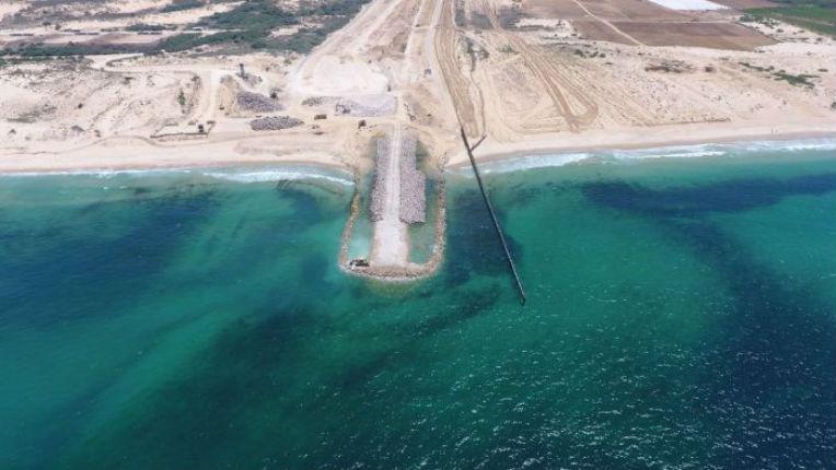 Israël/Gaza: des images de la nouvelle barrière maritime anti-terroriste dévoilées (Vidéo)