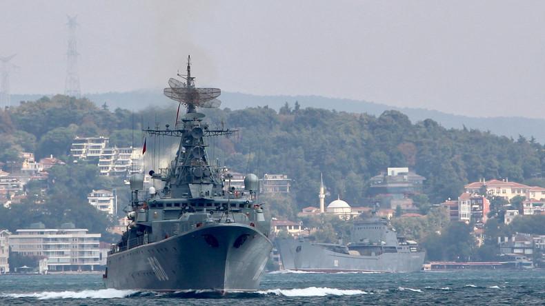La Russie annonce de vastes manœuvres navales en Méditerranée, redoutant une provocation occidentale en Syrie