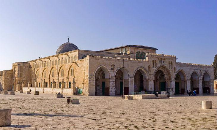 [Vidéo] Jérusalem: un incendie s'est déclaré dans la mosquée Al-Aqsa en même temps que Notre-Dame de Paris
