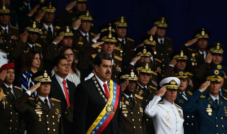 [Vidéo] Caracas: Nicolas Maduro président du Venezuela déclare «On a essayé de m'assassiner»