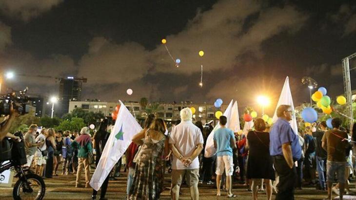 [Video] Les israeliens du Sud débarque à Tel-Aviv: «Nous ne sommes pas de la chair à canon !»