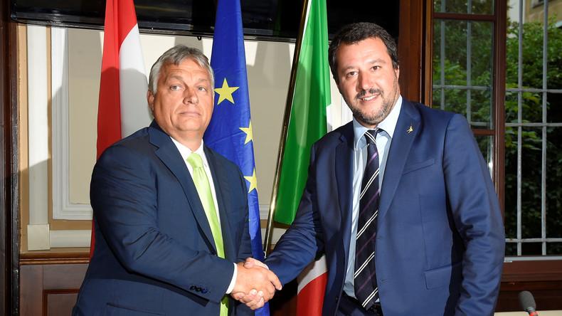 L'Italie et la Hongrie créent un « axe anti-immigration »