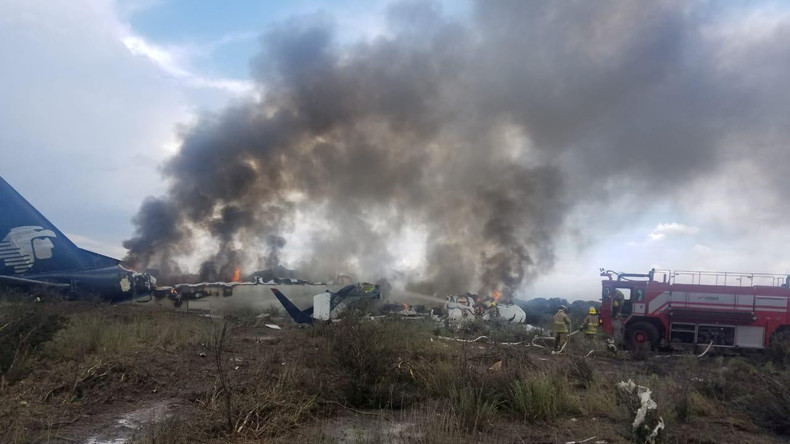 [Vidéo choc] Le crash de l'avion d'Aeromexico filmé de l'intérieur par un passager