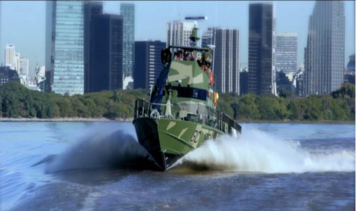 Les chantiers navals israéliens livrent une patrouille rapide Shaldag MK II en Argentine