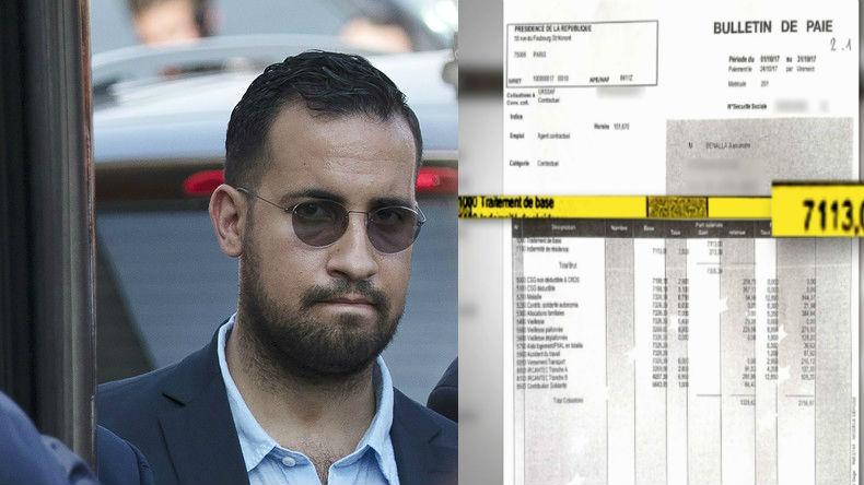 Affaire Benalla: BFMTV révèle la fiche de paie de l'ancien chargé de mission d'Emmanuel Macron