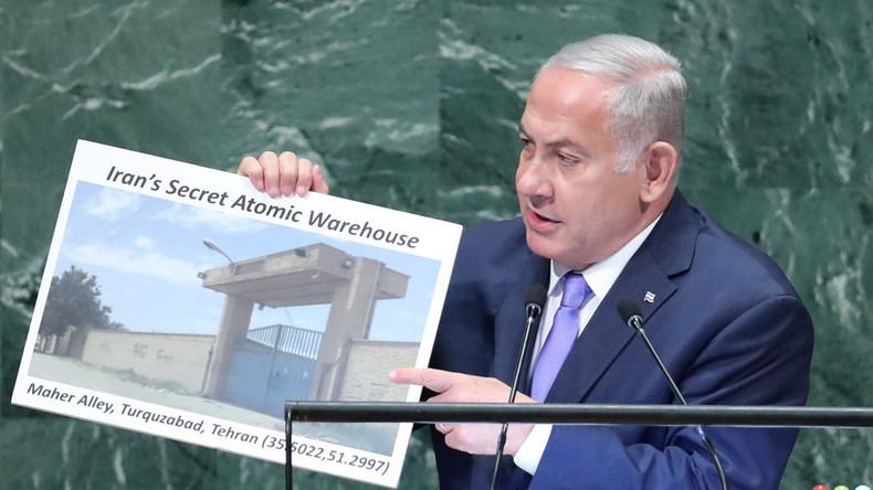 A l'ONU, Netanyahou «Je révèle pour la première fois que l'Iran dispose d'un complexe secret à Téhéran»