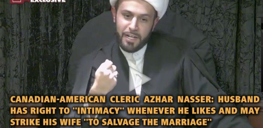Un cheik canadien : « Un époux a droit à des rapports intimes quand il le désire et peut frapper sa femme pour sauver le mariage » (Vidéo)