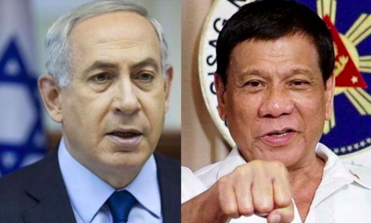 Le président philippin Duterte entame sa visite officielle en Israël