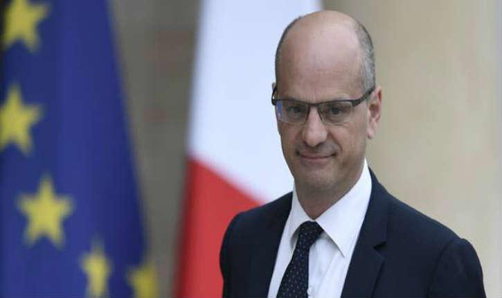 Jean-Michel Blanquer, ministre de l'Éducation réfute l'idée d'imposer l'apprentissage de l'arabe à l'école primaire