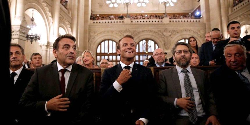 Macron face à une communauté juive « gravement inquiète »