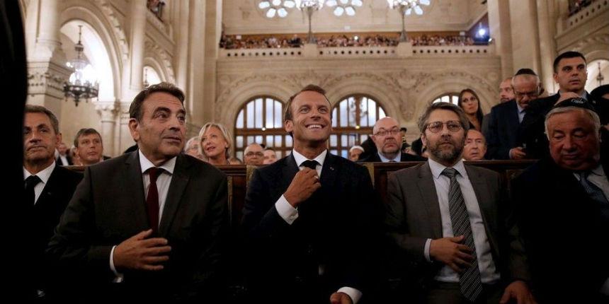 La venue d'Emmanuel Macron à la synagogue de la Victoire pour la cérémonie des vœux pose question. Par Shmuel Trigano