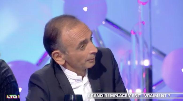 Grand remplacement : débat tendu entre Éric Zemmour et les chroniqueurs des Terriens du dimanche (Vidéo)
