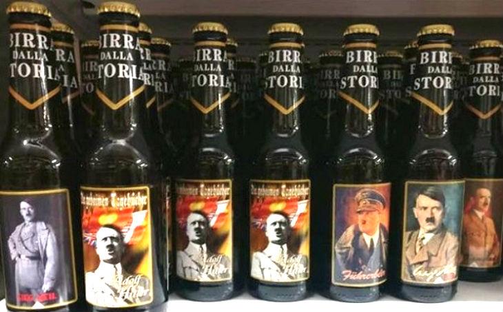 Italie: Des bières à l'effigie d'Hitler ou de Mussolini cartonnent