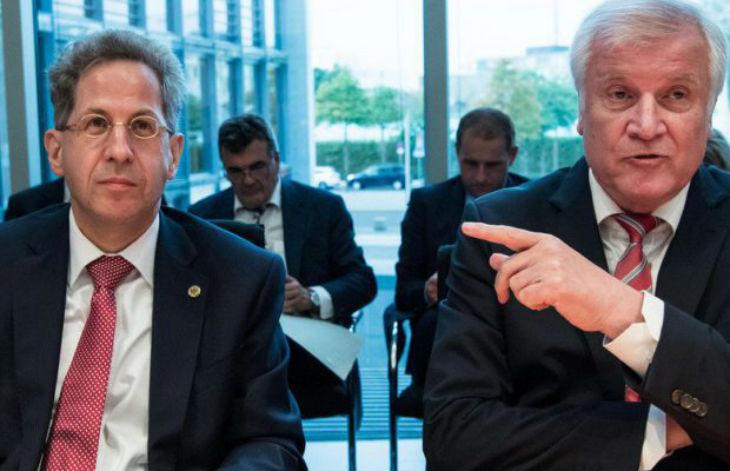 Allemagne : le patron du renseignement, vilipendé par la gauche et les médias pour avoir démenti Merkel sur l'existence de « chasses anti-migrants », est soutenu par son ministre