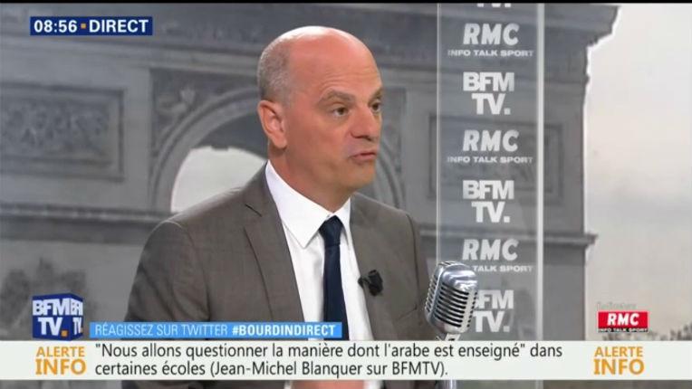 Le ministre Jean-Michel Blanquer souhaite développer l'apprentissage de l'arabe à l'école et « lui donner du prestige »… Et vous qu'en pensez vous ?