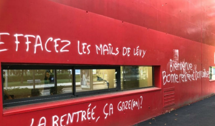 Grenoble : le président de la fac visé par des tags, la ministre dénonce un acte antisémite