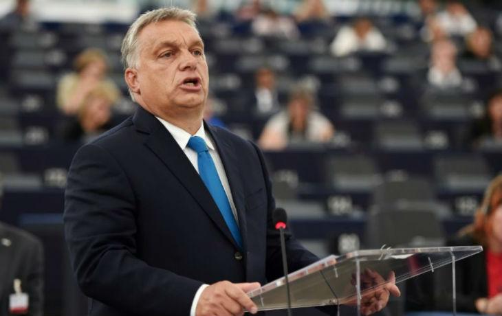 Victor Orban devant le Parlement Européen «Le peuple hongrois a décidé que la Hongrie ne deviendrait pas un pays de migrants»