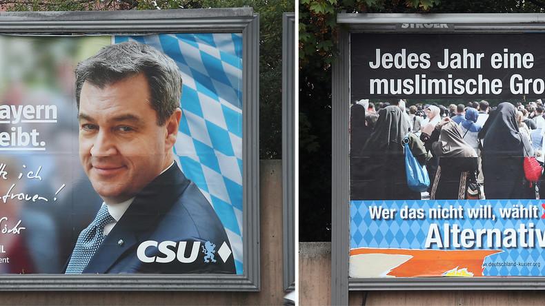 Elections en Bavière: le parti anti-migrant AfD entre au Parlement, revers historique des alliés conservateurs de Merkel