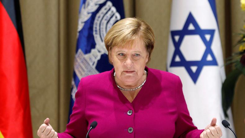 Lors d'un appel à Benjamin Netanyahou, Angela Merkel a assuré de sa solidarité avec Israël… pas Macron
