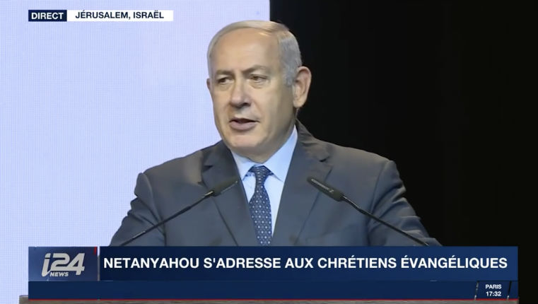 Benjamin Netanyahou «Nous n'avons pas de meilleurs amis dans le monde que les Chrétiens. Vous défendez Israël, vous défendez la vérité» (Vidéo)