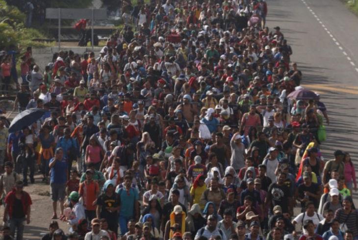 L'Administration Trump coupe l'aide des pays qui n'ont pas réussi à arrêter la caravane de milliers de migrants qui se dirigent vers les Etats Unis