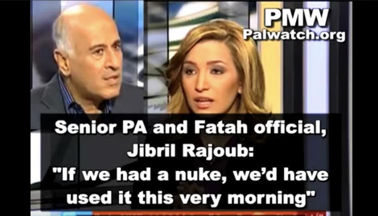 Jibril Rajoub, dirigeant palestinien «modéré» selon les médias occidentaux, jure: «Si nous avions eu une arme nucléaire, nous l'aurions utilisée» (Vidéo)
