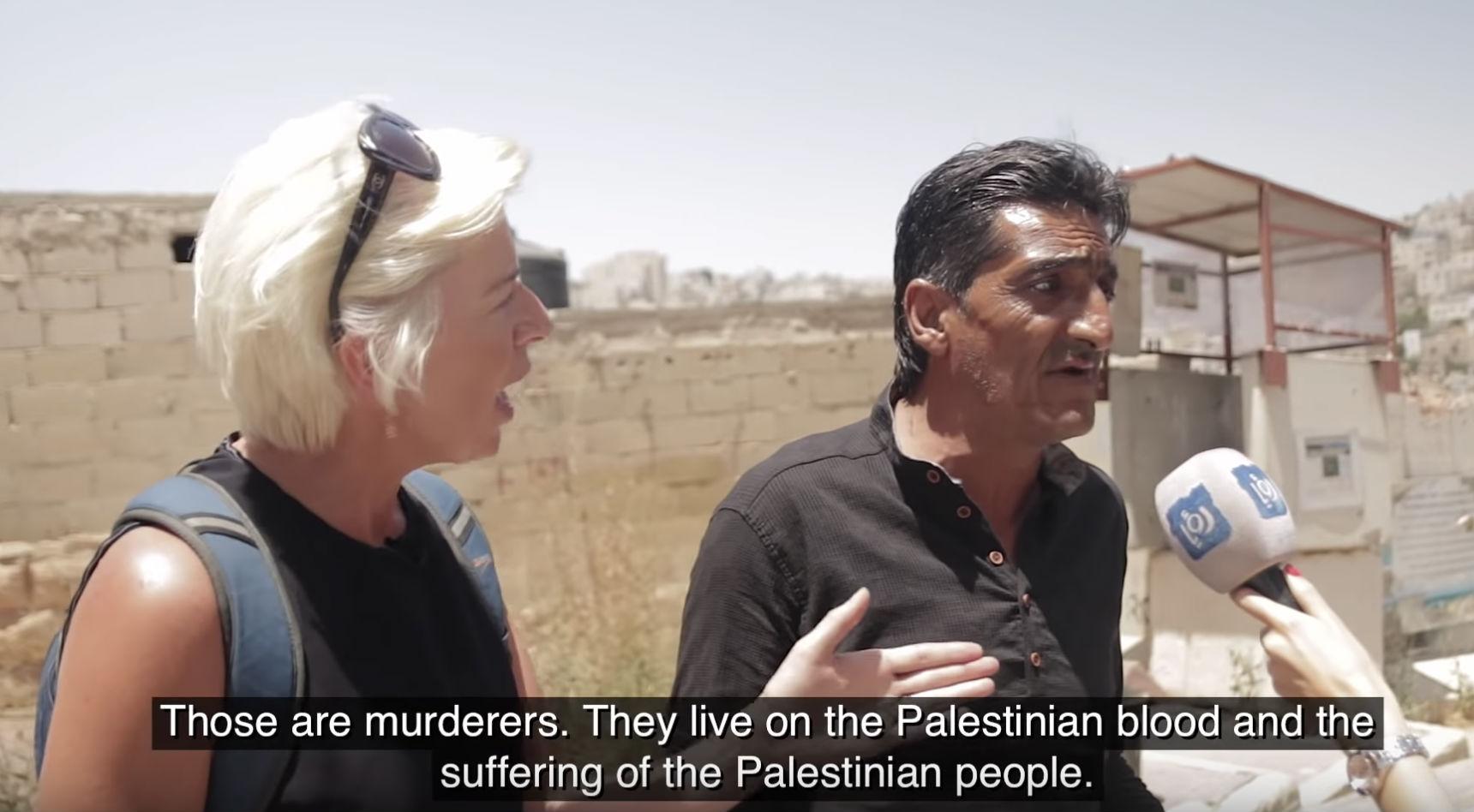 Une journaliste britannique clash un leader palestinien «Vous faites partie du problème, arrêtez de mentir au monde» (Vidéo)