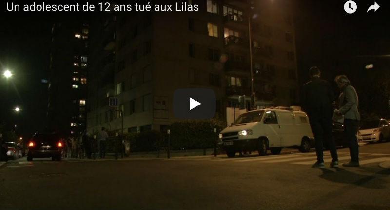 Les Lilas : un garçon de 12 ans tué à coups de barre de fer lors d'une rixe entre bandes rivales (Vidéo)