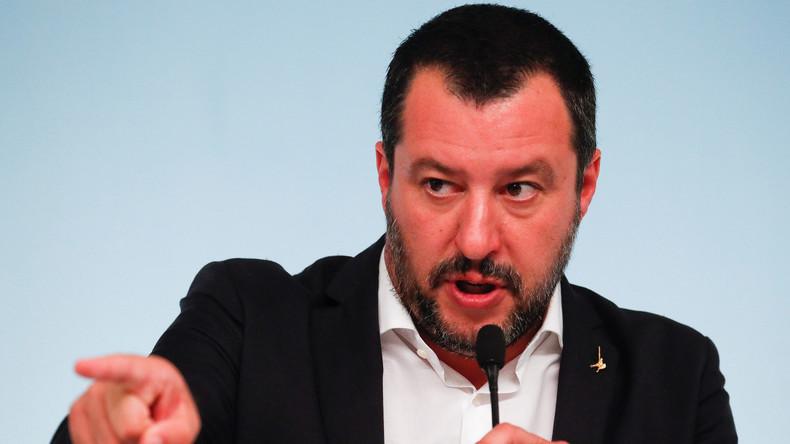 Salvini à Macron: les terroristes ne doivent pas «boire du champagne sous la tour Eiffel»