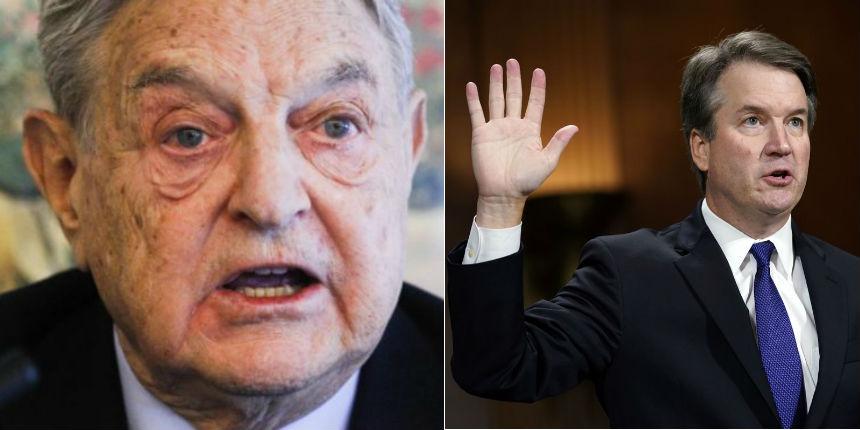 Soros, qui finance toutes les campagnes anti-Trump dans le monde, menace des mesures d'urgence pour mettre fin à la candidature de Kavanaugh