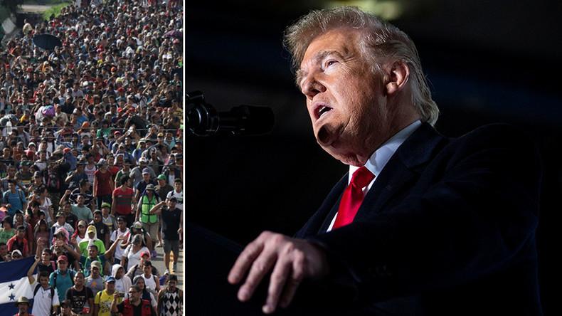 États-Unis : Trump décrète l'urgence nationale à la frontière mexicaine afin de pouvoir y construire le mur anti-migrant (Vidéo)