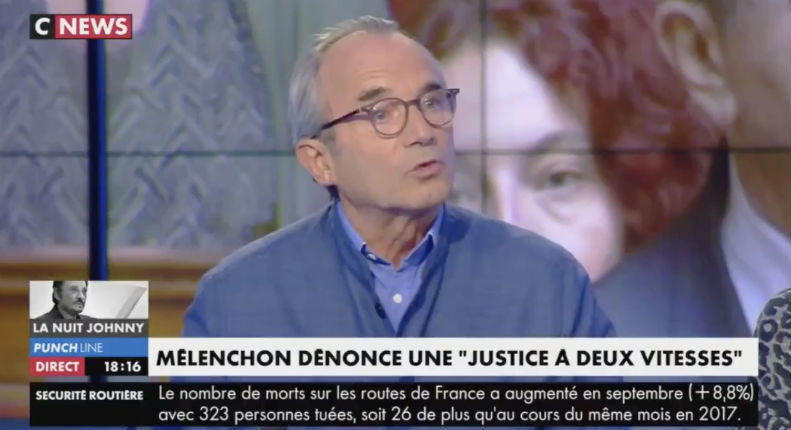 Yvan Roufiol à propos de Mélenchon «Si cette scène avait été commise par des membres du Front National, immédiatement tout le monde crierait au fascisme» (Vidéo)
