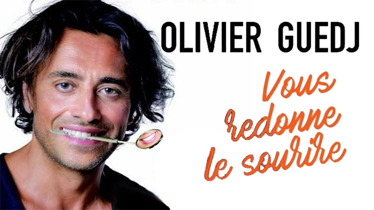 Tel-Aviv accueille Olivier Guedj, un chirurgien dentiste qui devient humoriste !