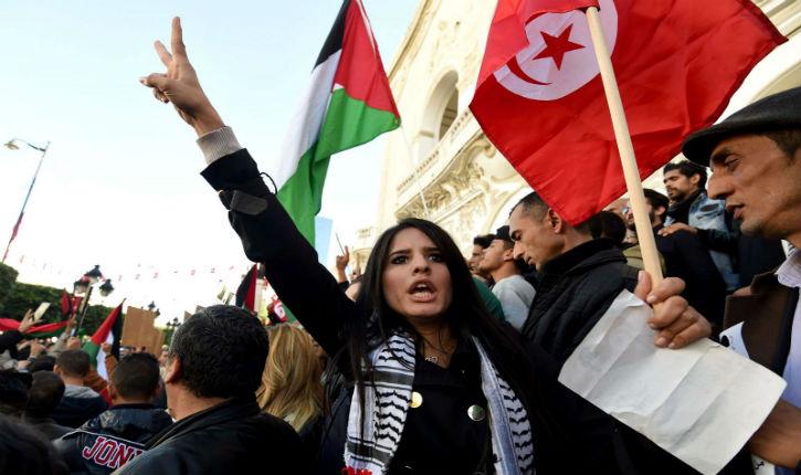 Des militants de la gauche antisémite menacent les membres de la LICRA-Tunisie