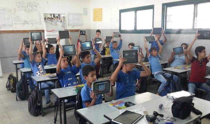 Choquant comparatif entre la situation des écoles chez les Palestiniens et en Tunisie
