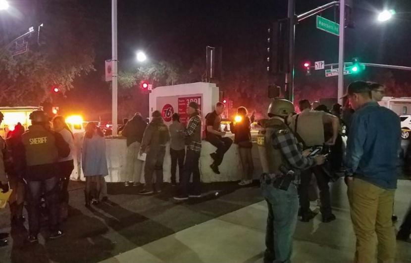 Fusillade en Californie : au moins 12 morts, dont le tireur