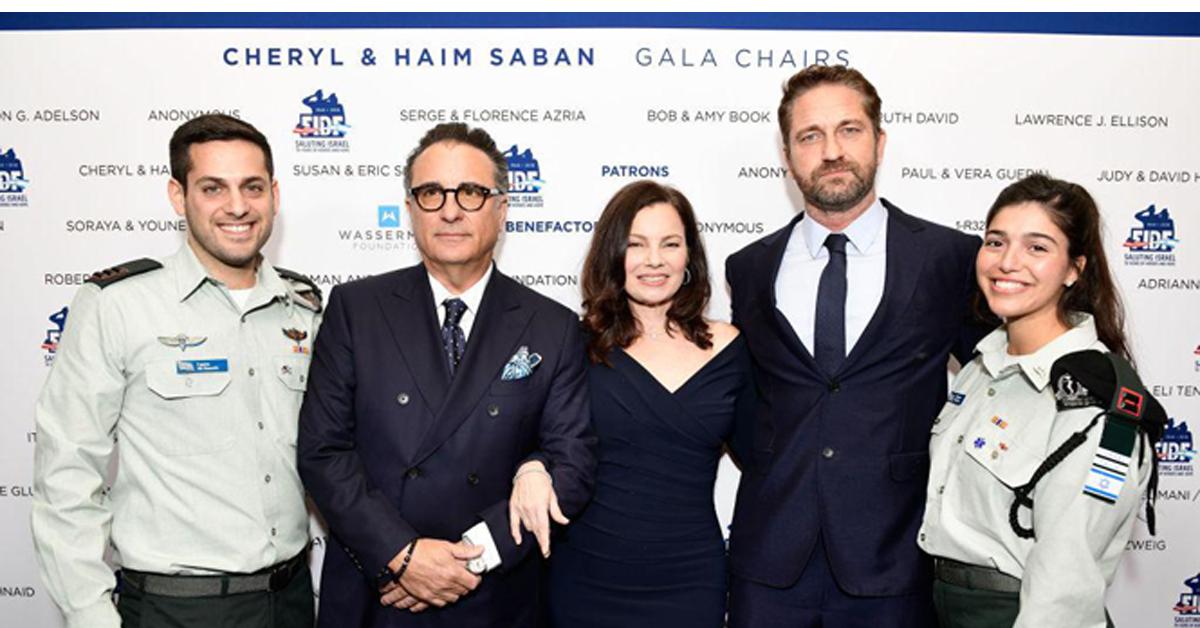 Les stars hollywoodiennes récoltent 60 millions de dollars lors d'un gala en faveur de Tsahal