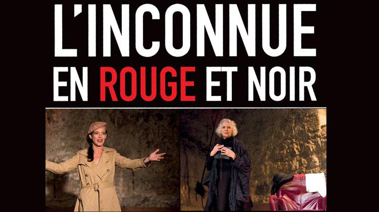 «l'Inconnue en Rouge et Noir» jouée par Elisabeth Kedem et Nadia Ruck ce mois-ci en Israel
