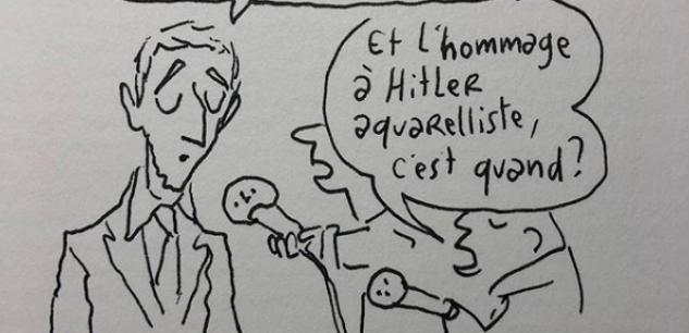 La phrase de Macron sur Pétain a bien inspiré Joann Sfar
